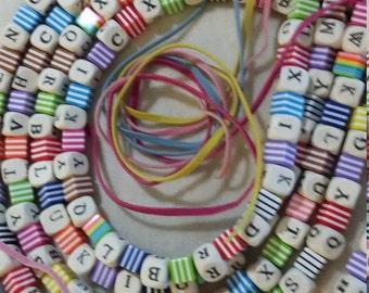 Alphabet Soup Necklace
