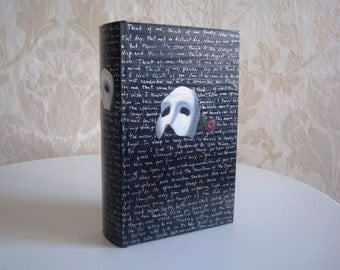 Customizable Book-shaped Phantom of the Opera Box