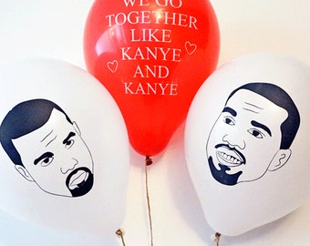 Kanye Balloons, Will you be my Prom Date