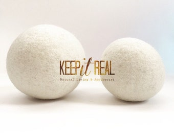 Wool Dryer Balls -Best Prices on XL Jumbo and Regular