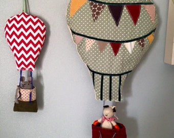Personalised Hot Air Balloons x