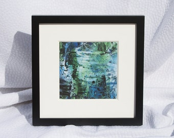 Framed Print 2 || Birch Trees || Free Shipping