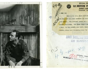 Hollywood Movie Stills from WWII