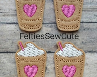 Iced Coffee Felties