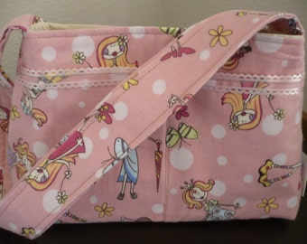 Pink Girly Mini Diaper Bag