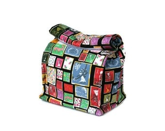 MTO Insulated lunch bag - Stamps