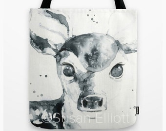Sweet Fawn Tote Bag