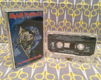 No Prayer for the Dying by Iron Maiden Cassette Tape rock heavy metal