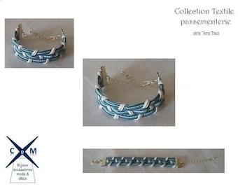 Bracelet Textile braid (*) Trimmings Collection