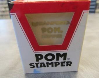 Sanford POM  Stamper past Due