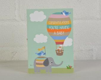Expecting a Baby Card - Congratulations