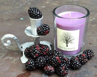 PURPLE Blackberry Soy MAGIC CANDLE