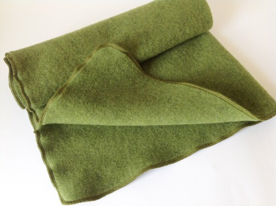 ORGANIC Wool puddle pad mattress protector wool