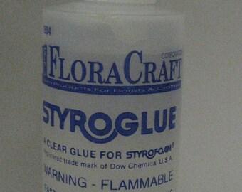 2 StyroGlue bottles