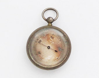 1900s Antique Miniature Medical Thermometer Victorian Thermometer