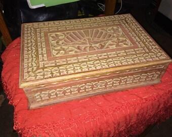 Vintage Treasure Box from Bali, Indonesia