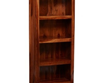 Bonsoni Chennai Large Bookcase Made From 100% Solid Hardwood