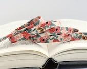 """1/2"""" Double Fold Bias Tape: Les Fleurs Rosa Peach, Cotton & Steel, Rifle Paper Co."""