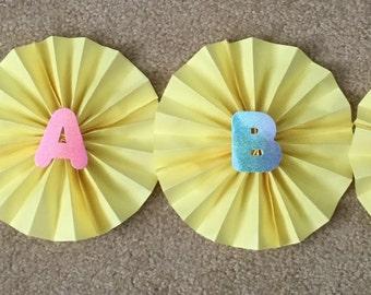 Handmade paper fans