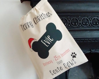 Christmas Sack for Dogs - christmas sack - sack for dogs - sack for pets - best gifts for dogs