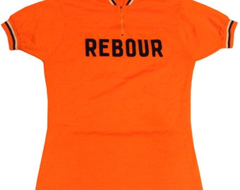 70's vintage Rebour cycle jersey made in France