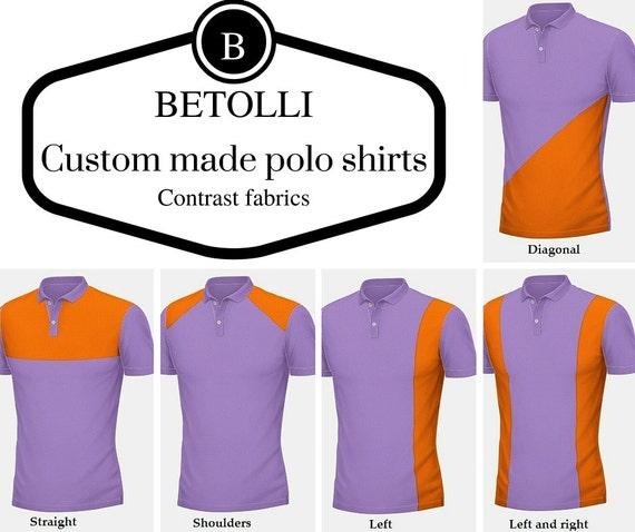 Custom made polo shirts monogramming personalized polo by for Custom tailored polo shirts