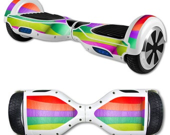 Skin Decal Wrap for Self Balancing Scooter Hoverboard unicycle Candy Chevron