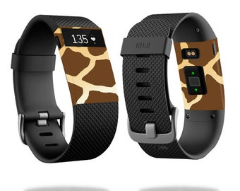 Skin Decal Wrap for Fitbit Blaze, Charge, Charge HR, Surge Watch cover sticker Giraffe