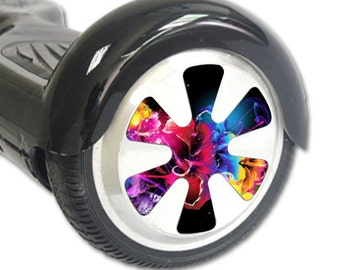 Skin Decal Wrap for Hoverboard Balance Board Scooter Wheels Bright Life