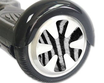 Skin Decal Wrap for Hoverboard Balance Board Scooter Wheels Zebra