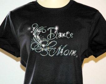 Rhinestone Dance Mom T-Shirt