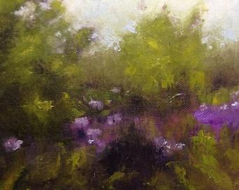 Purple Pops Landscape