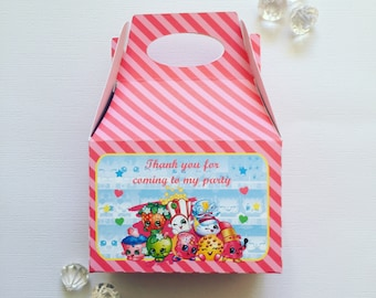 Shopkins treat boxes