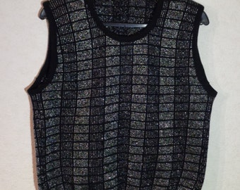 Women 60s. Vest Sweater Vest Romantic Comfortable Large Size