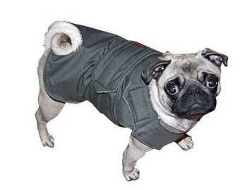 Extra Warm Winter Dog Coat - Dog Jacket - Custom Dog Coat - Waterproof / Fleece - Custom made for your dog