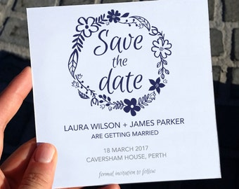 Save the date | save the date invite  | wedding card | DIY Printable