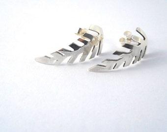 Silver Fern Studs