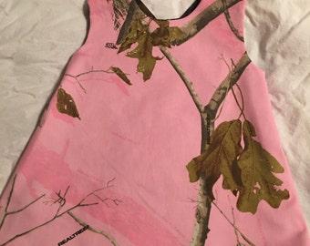 Realtree reversable pinafore tunic top