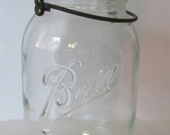Old Ball Ideal Glass Canning Jar