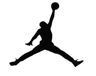 Silhouette Jordan style Jumping basketball Player Machine Embroidery Designs