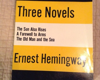 a comparison of the novels the old man and the sea and the sun also rises by ernest hemingway