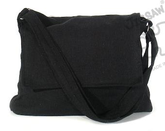 Messenger bag Black bag Crossbody bag Sling purse Shoulder Bag Tote