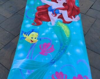 Ariel My Little Mermaid Beach Towel - Personalized