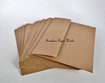 Kraft A2 Envelopes - 25 ct - 4.375 X 5.75 inches - 70# - Acid and Lignin Free