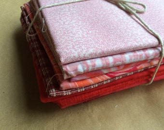 Red cotton fabrics