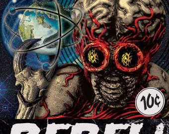 REBEL! Classic Horror Series: Metaluna Mutant Sticker