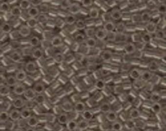 MIYUKI #11 Delica 1416 - Transparent Light Taupe - 5 grams