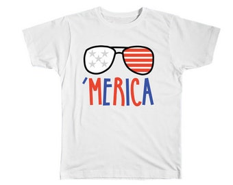 Boys Fourth of July Shirt-Kids 4th of July Shirt-Fourth of July Boys Shirt Merica-4th of July-Fourth of July-Memorial Day-Merica Shirt