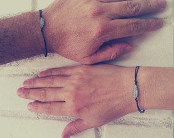Couple Bracelets, Boyfriend Girlfriend ,His And Her Bracelet, Set of 2  Love Braclets, Girlfriend Jewelry,Boyfriend Jewelry,Matching Jewelry