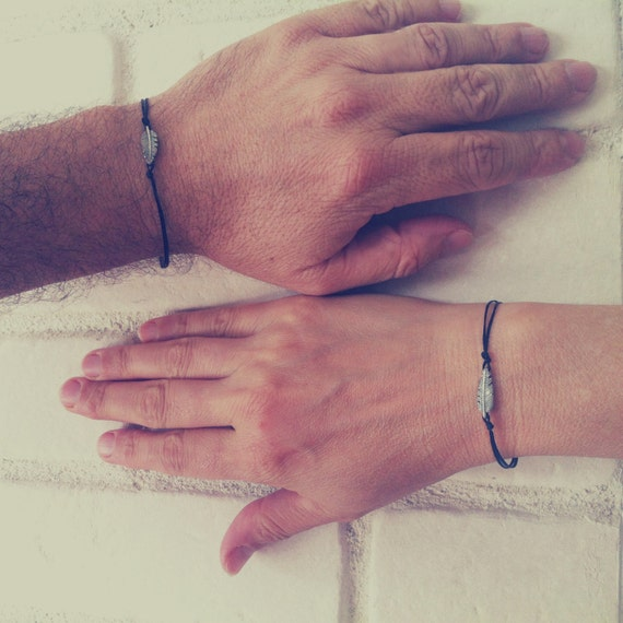 couple bracelets boyfriend girlfriend his and her bracelet. Black Bedroom Furniture Sets. Home Design Ideas